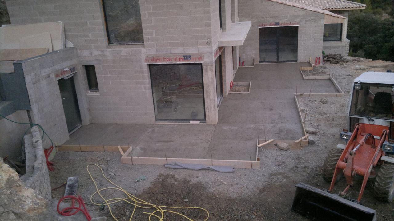Voir nos r alisations de maisons neuves et r novation de for Construction neuve maison