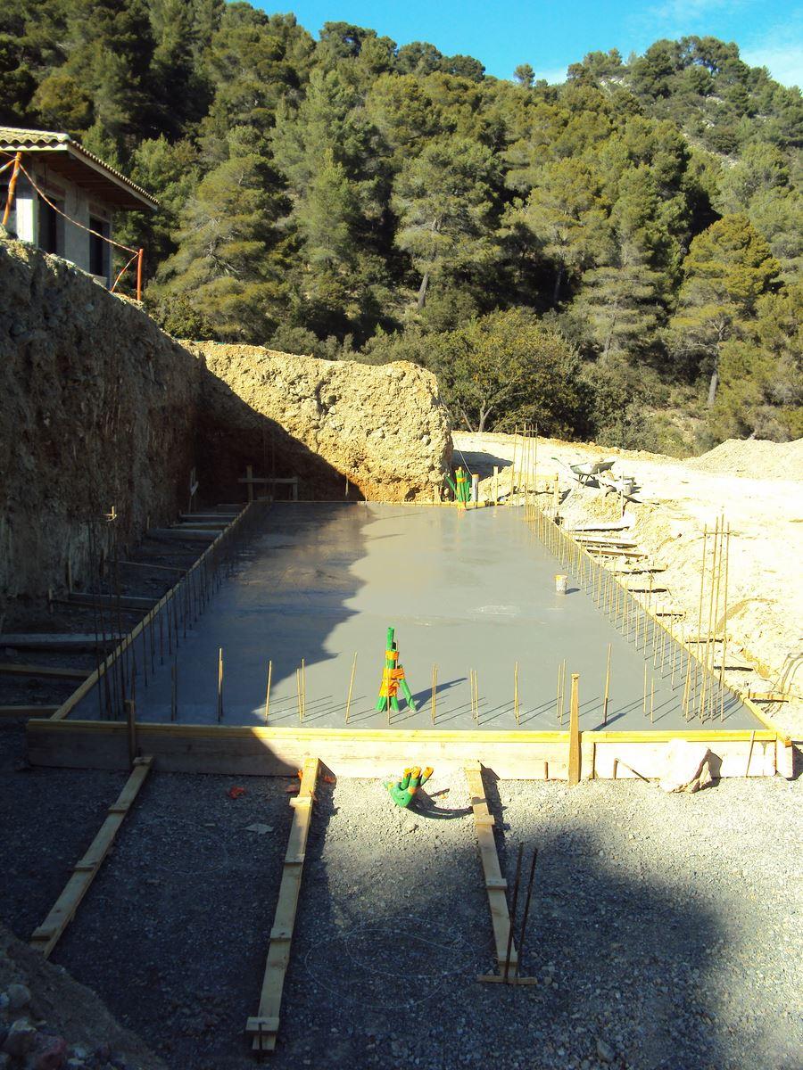 Voir nos r alisations de maisons neuves et r novation de for Construction piscine 09